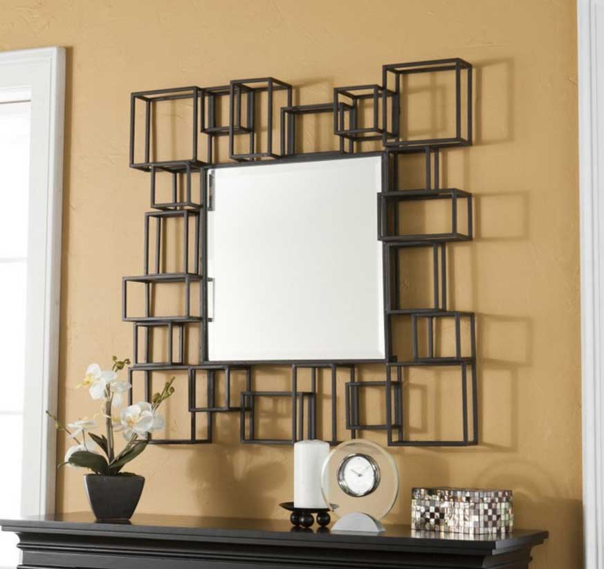 Living room decoration designer mirrors