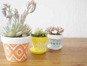 Living room decoration flower pots ideas 3