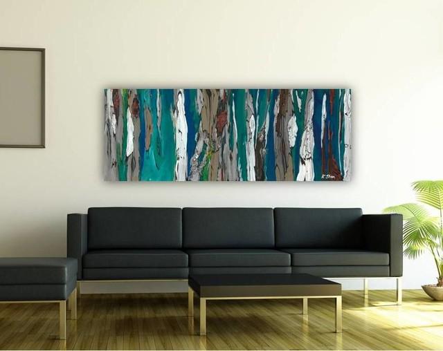 Living room modern art 2