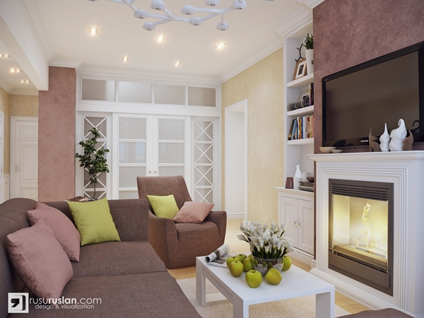 living room decoration color theme ideas 2